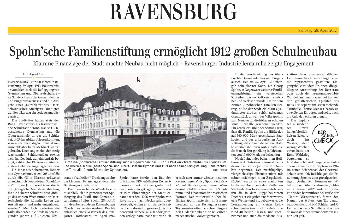 Schwäbische Zeitung Mengen